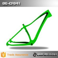 ORGE 2015 NEW Design 26er snow bicycle frame in stock, fat bike frame 17.5'' size for sale through axle