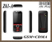 CDMA dual cards dual standby 800mhz G+C mobile phones