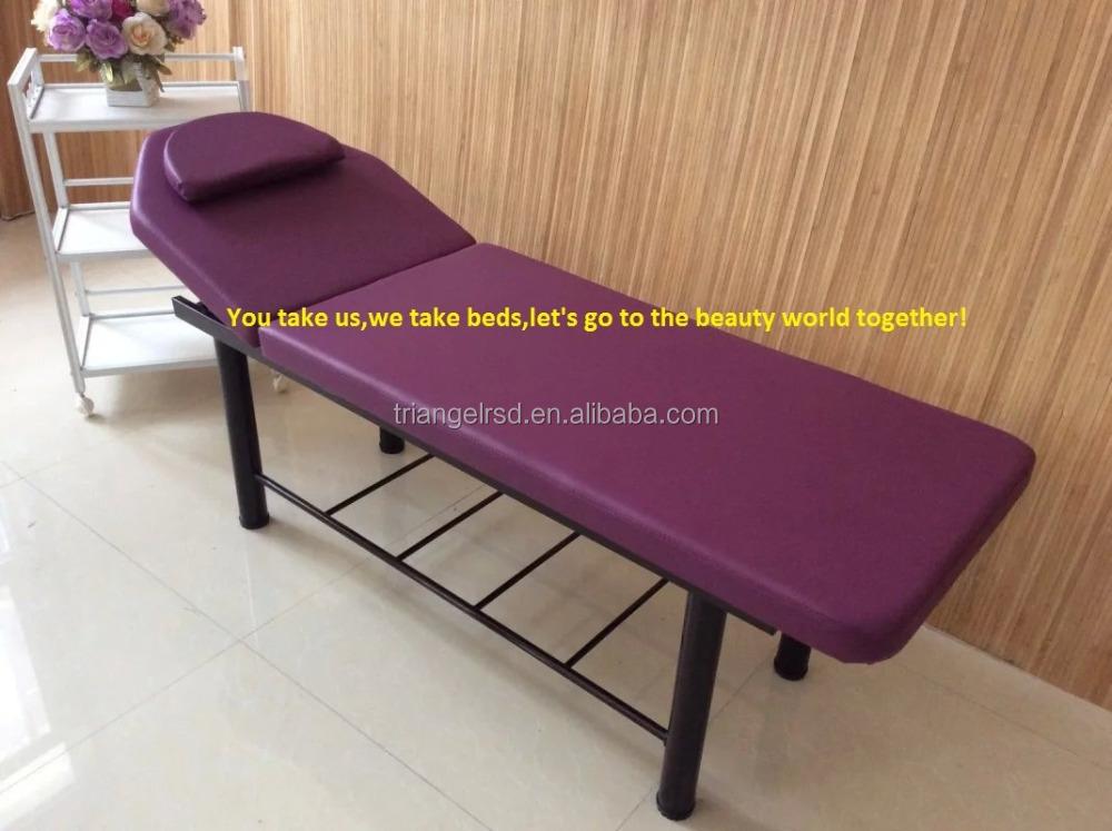 Wooden portable foldable beauty heated massage table buy for Foldable beauty table