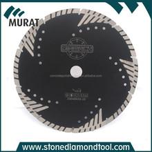 """230mm/9"""" Diamond Triangle Protected Teeth Cutting Wheel, Diamond Cutting Disc"""