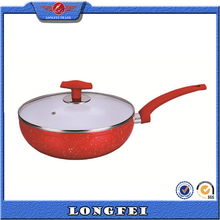 best selling items ceramic coating aluminum indian wok