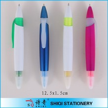 cheapest double sides function marker ball pen