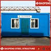 resist strong earthquake fireproof classroom/office connected 20ft container house