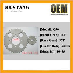 Sprocket C90 Motorcycle Engine with High Quality and OEM Service