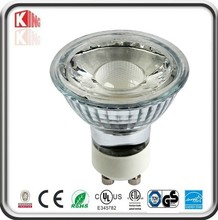 PSE CE RoHS listed 36 degree dimmable warm yellow light 5w gu10 led spotlight