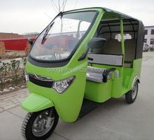 Indian electric passenger auto rickshaw