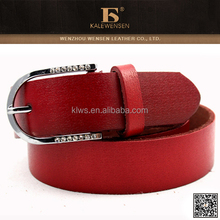 Custom made wholesale Fashion direct leather belt process manufacturing