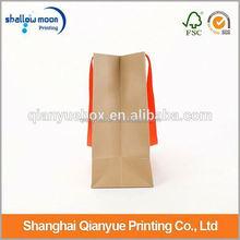 Customized Printing decorate brown paper bag