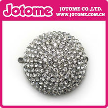 Wholesale Round Ball Clear Crystal Rhinestone Buttons