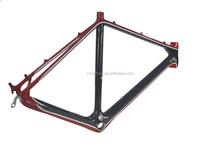 OEM 3K/UD pink road bike frame made in taiwan