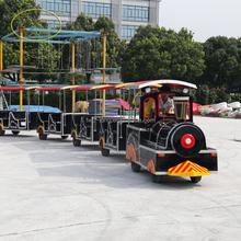 Amusement Model Train Ride! Amusement Rides Trackless Train / Electric Train for Children