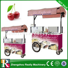 Small size mobile snack food cart/dinner car/snack car for food sale