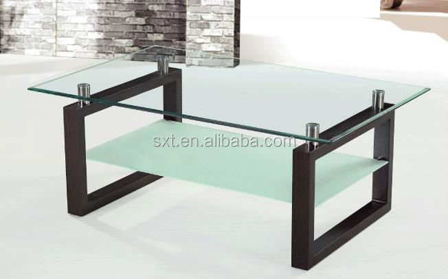 Wooden Center Table Design With Glass Top   Buy Wooden Center Table .