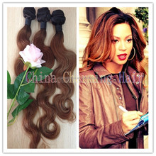 new arrival #1b 30 dark root ombre body wave hair extensions 100% virgin brazilian two 2 tone human hair weave weft 8-30inches