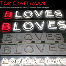Free Standing Outdoor Light Up Letters With Bulbs Led Sign Manufacturers