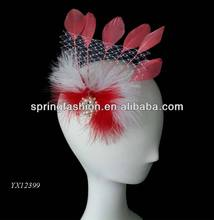 Beautiful feather headpiece carnival,headpiece