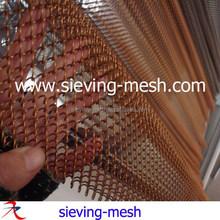 Aluminum Door Curtain/metal Hanging Room Divider Apply For Building Interior