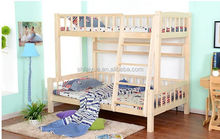 Good quality Bedroom adult Twin over Full wood bunk bed