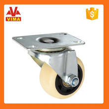 """Factory 3"""" PP wheel with double ball swivel caster wheels"""