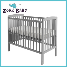 NEW!! Colorful Baby cot /Mini Baby Crib Cot/Simple Design Baby Bed-Grey