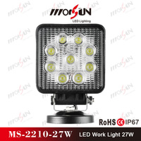 Car accessories 27W flood LED work light, 4x4 off road light MS-2210-27W