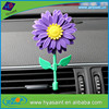 hot sale rose scented flower air freshener for car vent