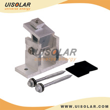 Front leg for solar PV mounting brackets