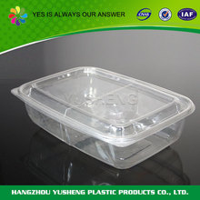 Blister process type disposable plastic packaging food
