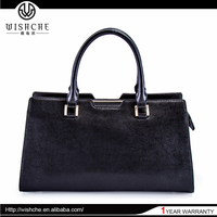 Wishche Highest Level Wine Ladies Imported And Pictures Leather Shopping Bags W027