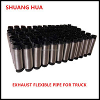 manufacturing exhaust truck flexible pipe, auto exhaust system hot selling