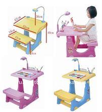 china toys educational toys Plastic kids study desk children study desk with projection children desk