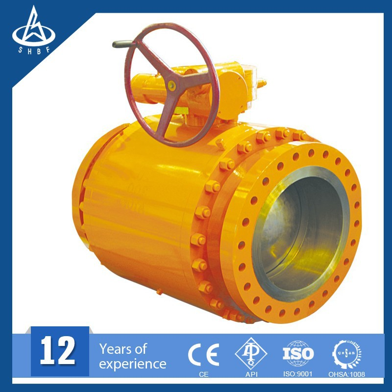 Operator Gear Gear Operated Ball Valve Oil