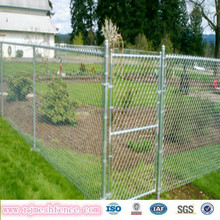 Alibaba china manufacture black pvc coated chain link fence with post and gates (made in Anping)