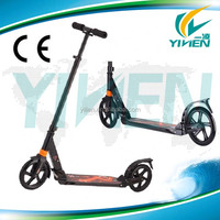 Hot sell twon rider 200mm wheel foot scooter