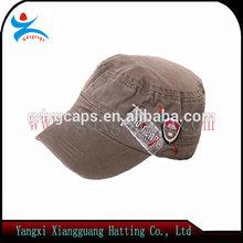 China fabricante venta al por mayor del ejército barato sombrero del ejército