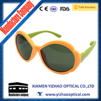 2015 flower sun glasses for children and kids to protecting eyes