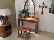 DR3004 European style art decorative carved maple dressing table