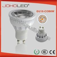 5w 6w 9w gu10 cob led bulb energy star reflective cup