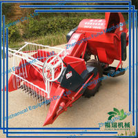 rice harvester tractor /mini harvester machine/small wheat harvest