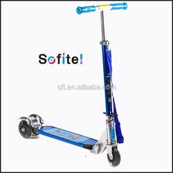 Kids adjustable folding kick scooter