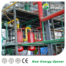 recycling waste scrap tire pyrolysis plant to fuel oil for sale