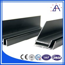 Anodized aluminum frame for solar panel