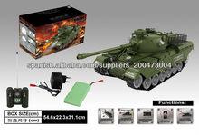 rc tanque con función de disparo rc tanque de batalla