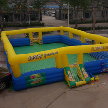 Excellent design football inflatable pitch, football field,inflatable football arena