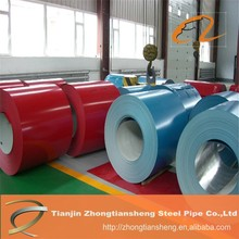 China manufacturer prepainted galvanized steel coil with price, PPGI PPGL iron sheet in roll, color steel