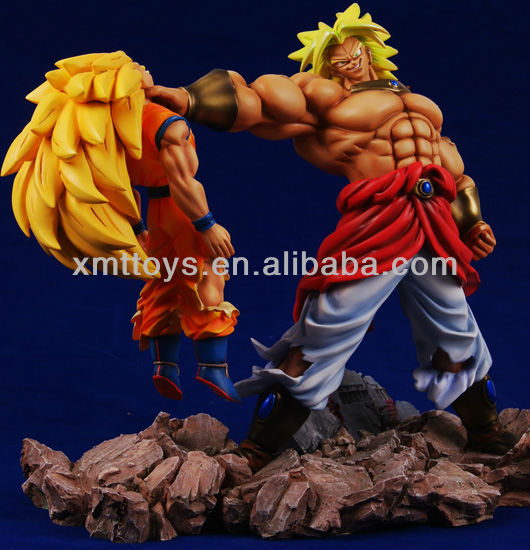 custom dragon ball giappone cartoon figurain resina
