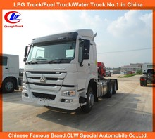 10 wheel Sinotruk tractor head 6*4 prime mover LHD or RHD 371hp howo 10 wheel tractor