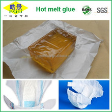 Sanitary Hygiene Hot Melt Clear Adhesive