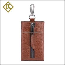 Leather key ring holder,leather key chain,innovative key holder