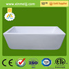 Factory price high glossy cheap freestanding classical acrylic bathtub